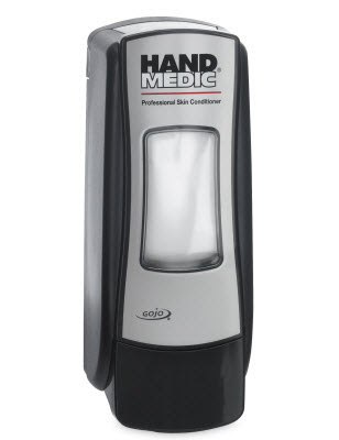 8782 DISPENSER ADX-7 svart HAND MEDIC 685ml