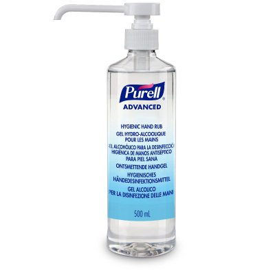 Purell gel 500ml med pump